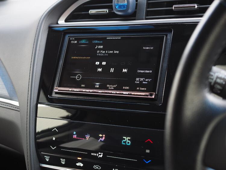 シャトルに取り付けられているサウンドナビを使って音質調整