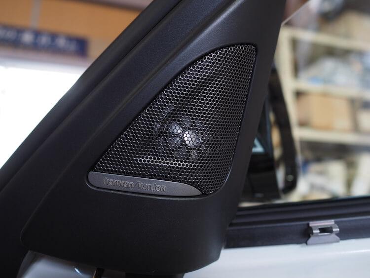 BMWM3のハーマンカードンスピーカー