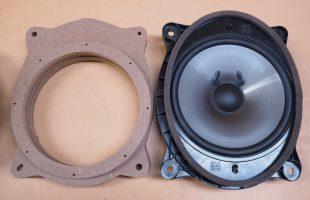 レクサス RX450h フロントスピーカー交換作業