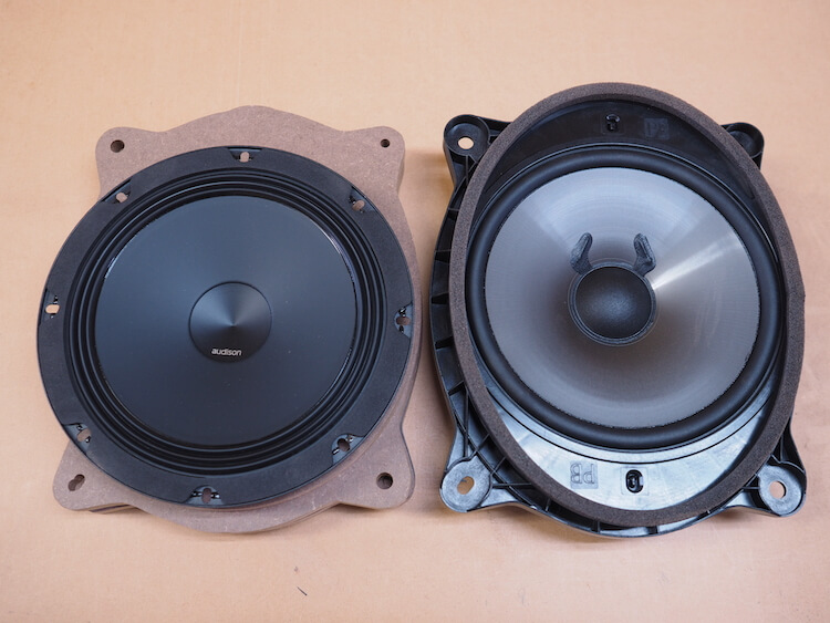 レクサスRX450h用のインナーバッフル制作