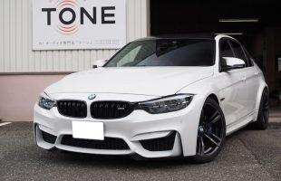 BMW M3 スピーカー交換作業