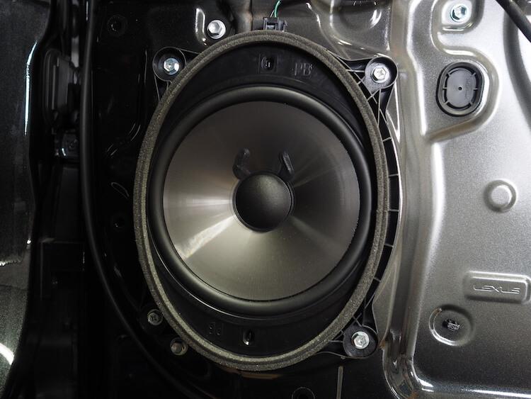 レクサスRX450hのドアスピーカー交換
