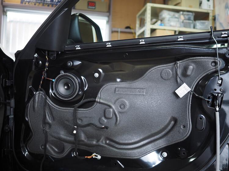 BMW_328i_F30のドア内部
