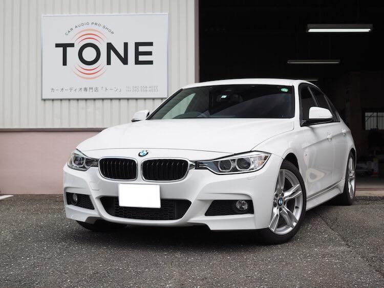 BMW 3シリーズ-F30のスピーカー交換作業