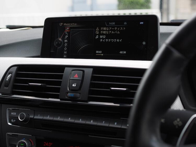 BMW 3シリーズ-F30の音質調整