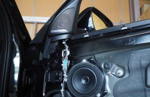 BMW X2 スピーカー交換
