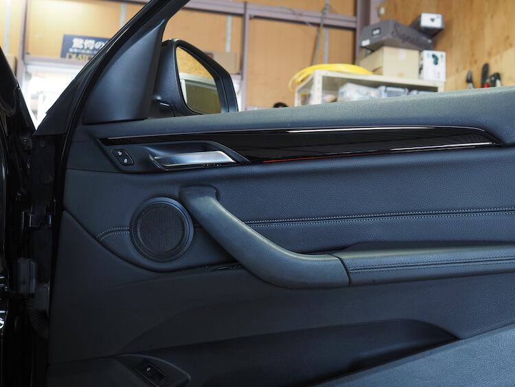 BMW_X1の純正ドア内ばり