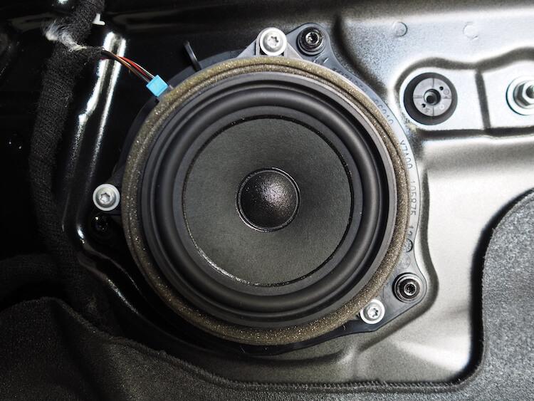 BMW_X1の純正ドアスピーカー