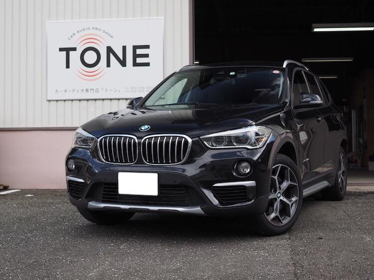 BMW X1 スピーカー交換