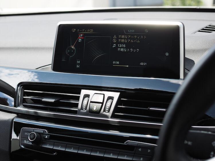 BMW_X1の音質調整
