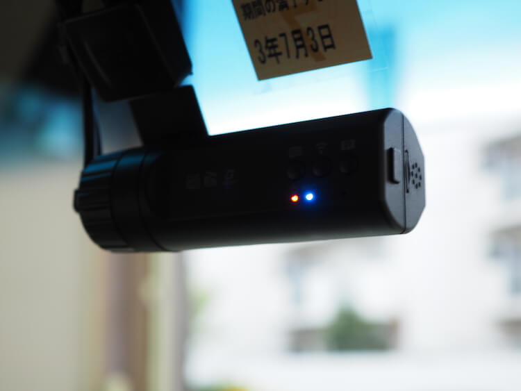ホンダ N-BOXにドライブレコーダー取り付け