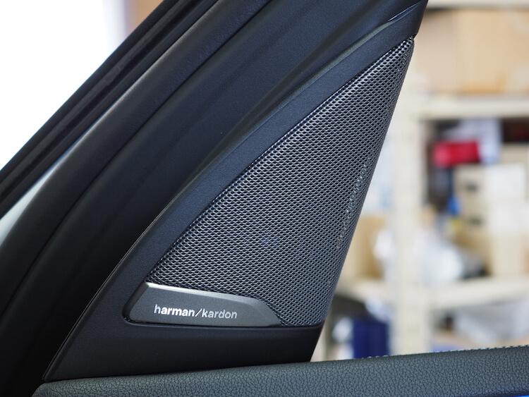 BMWアルピナXD3の純正ツィーター
