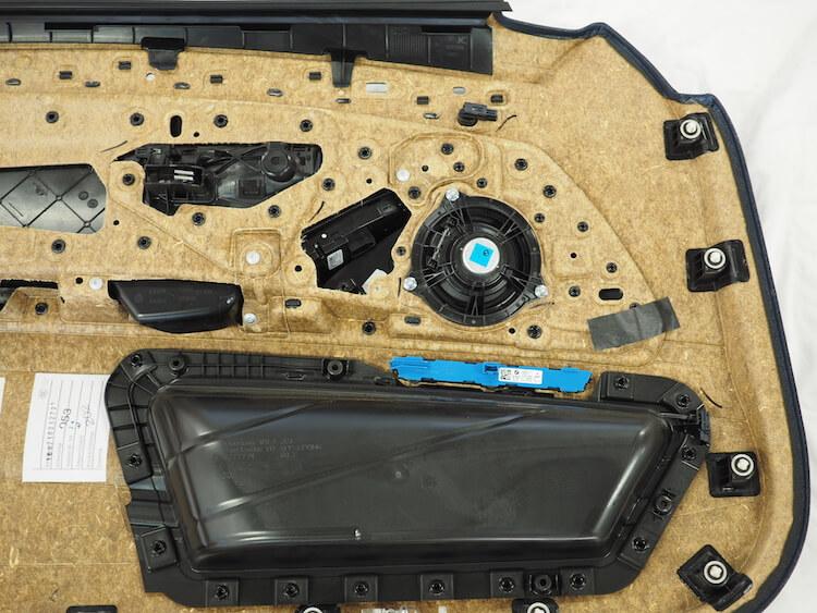 BMW5シリーズの純正ドアスピーカー