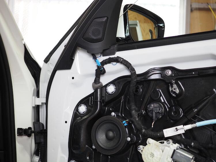 BMW3シリーズG20のドア内部