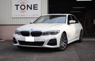 BMW 3シリーズ(G20)スピーカー交換・アンプ内蔵プロセッサー取り付け