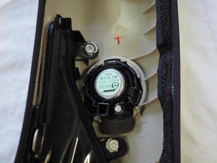 マツダCX8の純正ツィーター