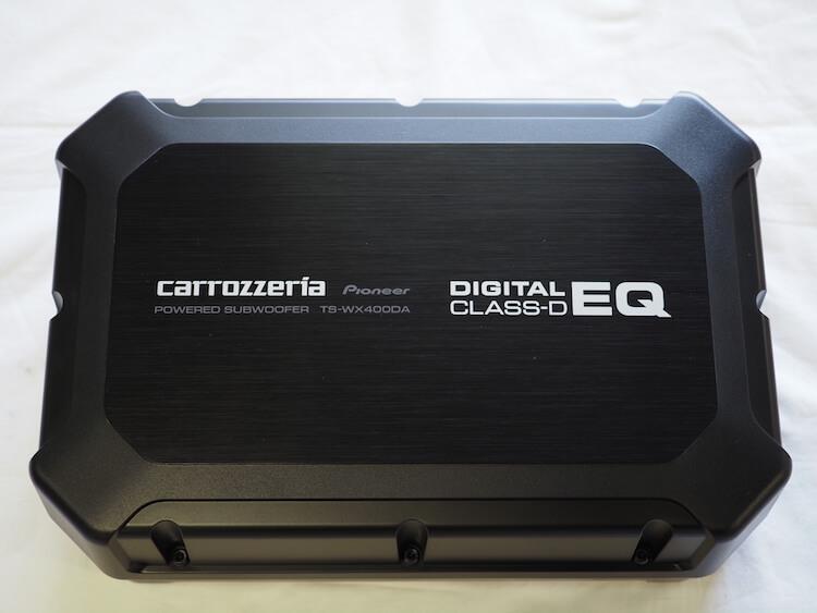 カロッツェリアのパワードサブウーファー TSWX400DA