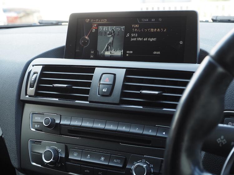 BMW220i_F22のオーディオ音質調整