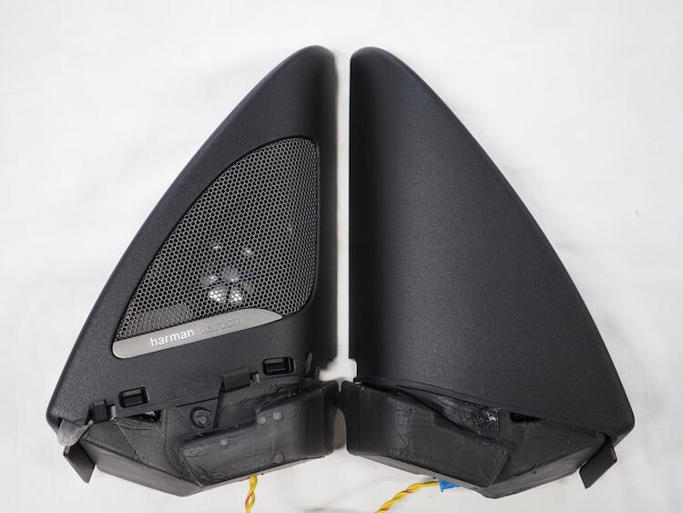 BMWM2のツィーター有りパネルと無しパネル