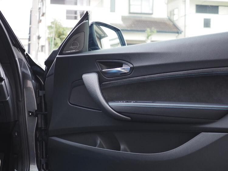 BMWM2のドアスピーカー交換