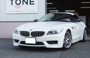 BMW Z4(E89)キックパネルスピーカー交換とアンプ内蔵DSP(プロセッサー)取り付け