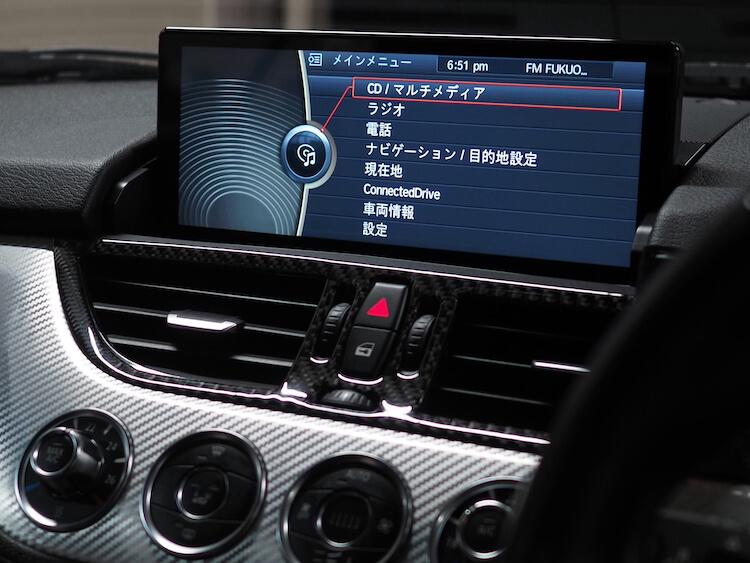 BMWZ4にアンドロイドナビ