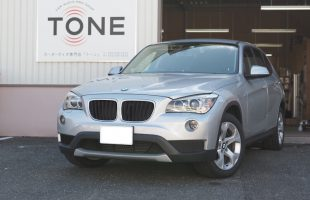 BMW X1 アンプ内蔵DSP(プロセッサー)取り付け