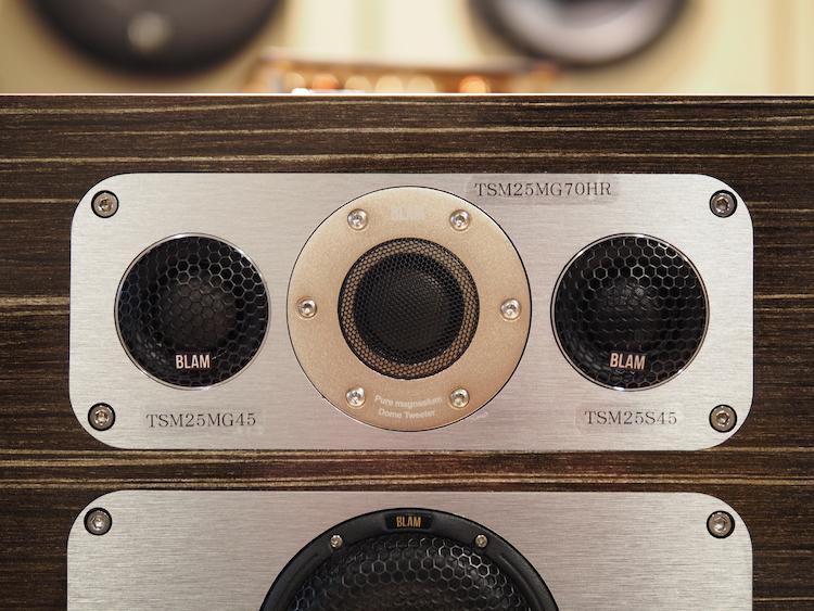 ブラムシグネチャーマルチックススピーカーの試聴機