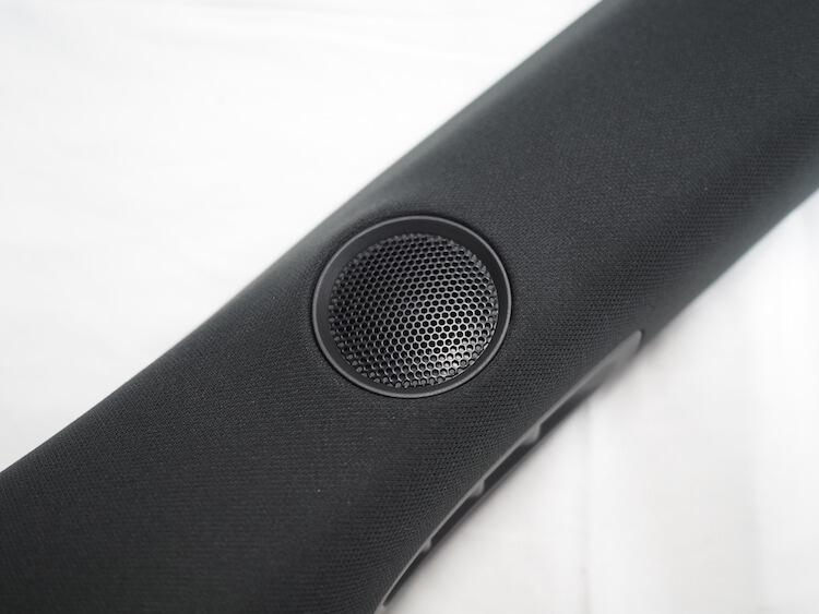 マツダCX8のピラーに取り付けられているツィーター
