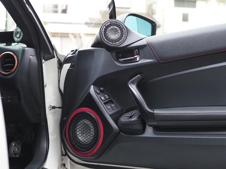 トヨタ86のフロントスピーカー交換