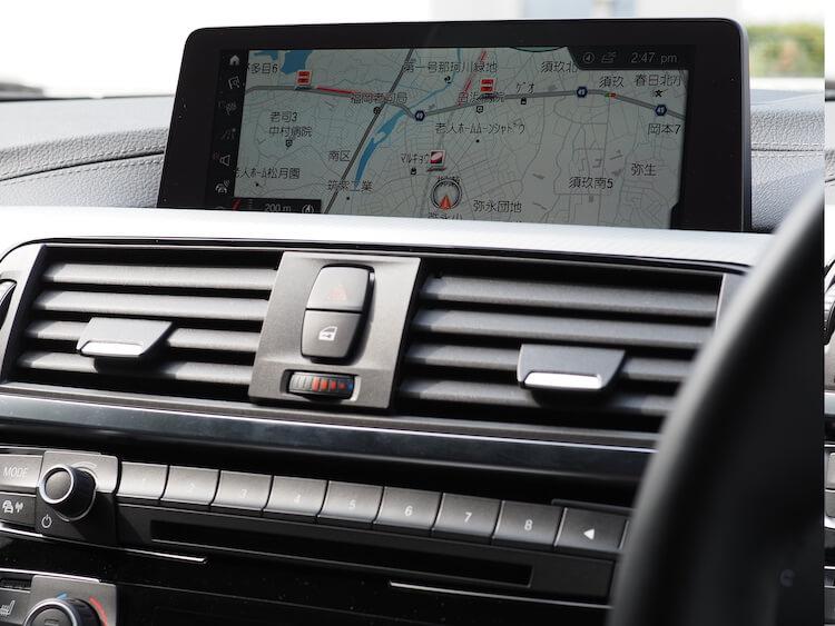 BMW420iのオーディオ音質調整