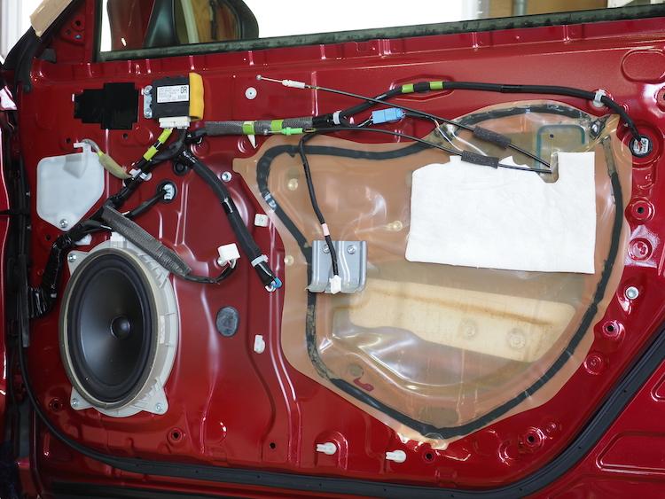 CT200hの純正ドア内部