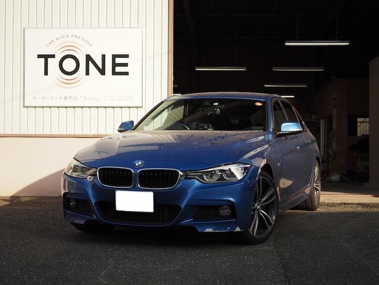 BMW 320i シート下ウーファー交換とドライブレコーダー取り付け
