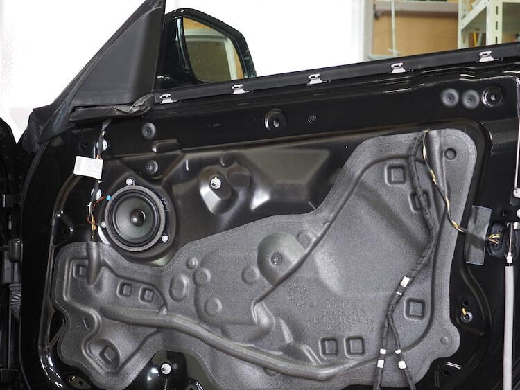 BMW3シリーズグランツーリスモのドア内部
