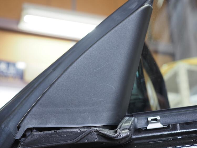 BMW3シリーズグランツーリスモのミラー裏パネル