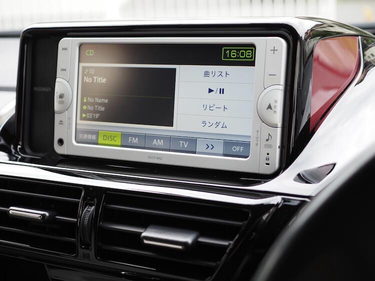 トヨタIQのオーディオ音質調整