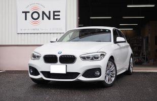 BMW 118i フロントスピーカー交換