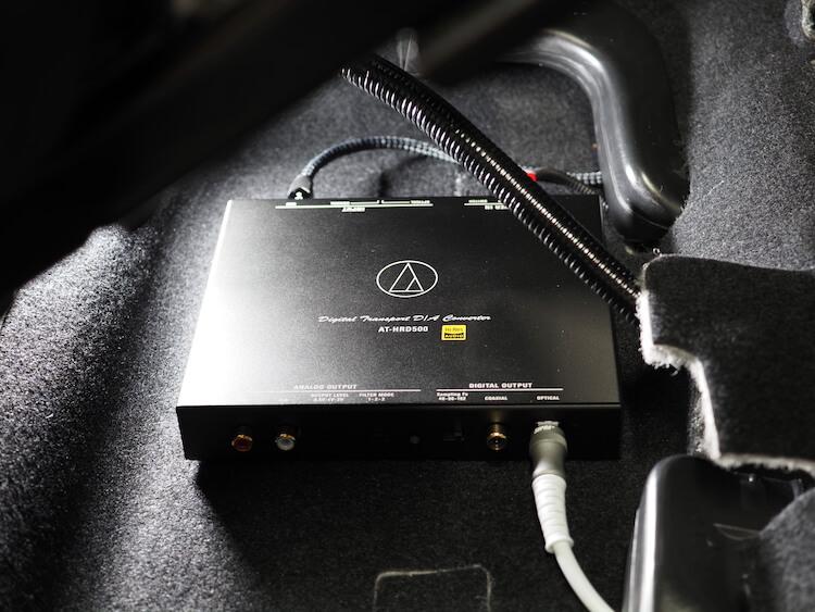 オーディオテクニカのデジタルトランスポーター