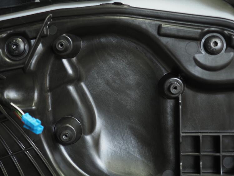 BMWM440iの純正ドアスピーカー取り外し