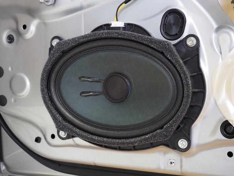 レクサス LS600hフロントドアスピーカー